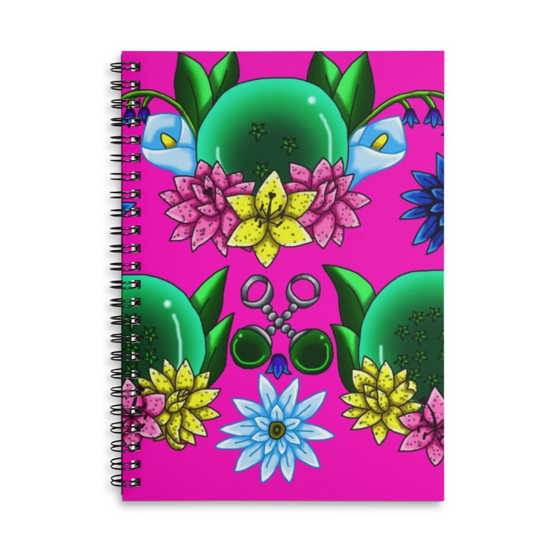 Inverted May Birthstone Dragonballs #24 Accessories Notebook by FieryWindWaker's Artist Shop