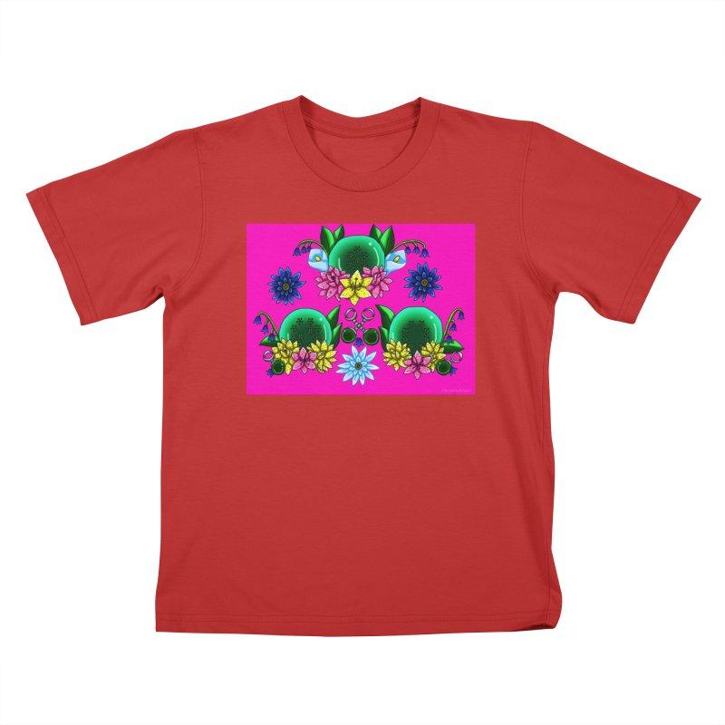 Inverted May Birthstone Dragonballs #25 Kids T-Shirt by FieryWindWaker's Artist Shop