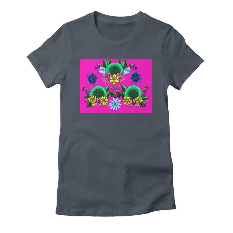 Inverted May Birthstone Dragonballs #25 Women's T-Shirt by FieryWindWaker's Artist Shop