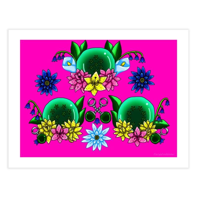 Inverted May Birthstone Dragonballs #25 Home Fine Art Print by FieryWindWaker's Artist Shop