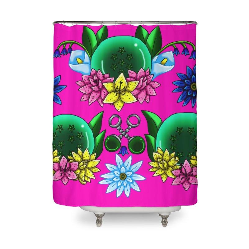Inverted May Birthstone Dragonballs #25 Home Shower Curtain by FieryWindWaker's Artist Shop