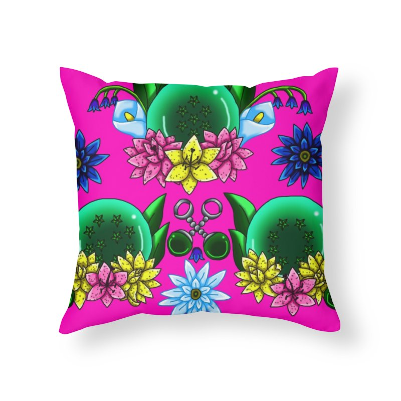 Inverted May Birthstone Dragonballs #25 Home Throw Pillow by FieryWindWaker's Artist Shop