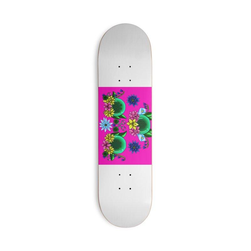 Inverted May Birthstone Dragonballs #25 Accessories Skateboard by FieryWindWaker's Artist Shop