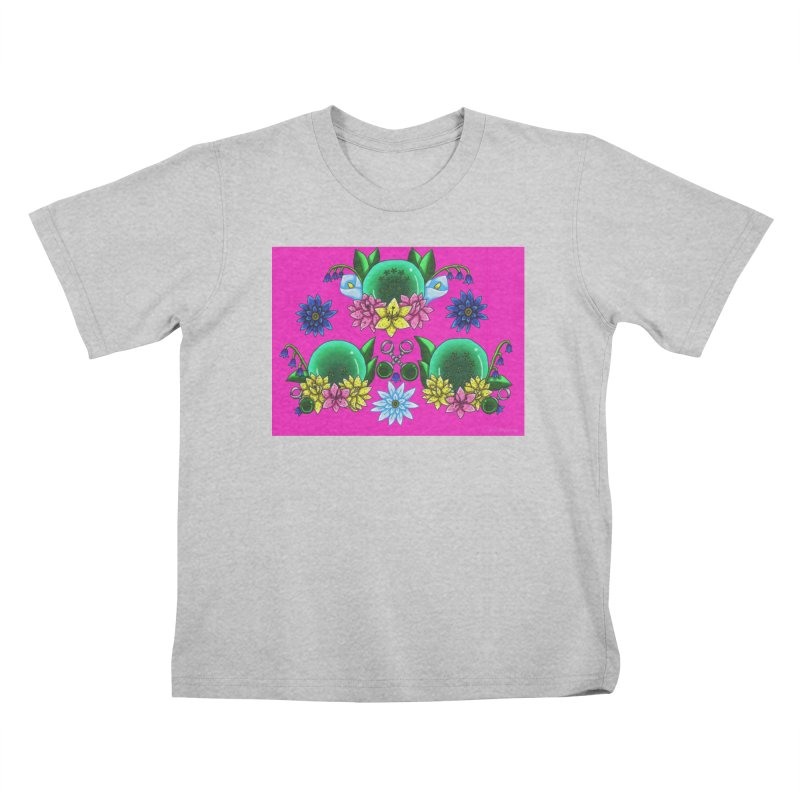 Inverted May Birthstone Dragonballs #26 Kids T-Shirt by FieryWindWaker's Artist Shop