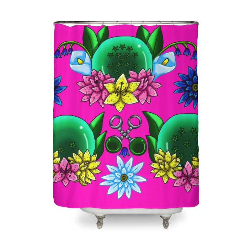 Inverted May Birthstone Dragonballs #26 Home Shower Curtain by FieryWindWaker's Artist Shop