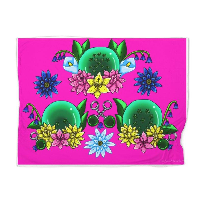 Inverted May Birthstone Dragonballs #26 Home Blanket by FieryWindWaker's Artist Shop