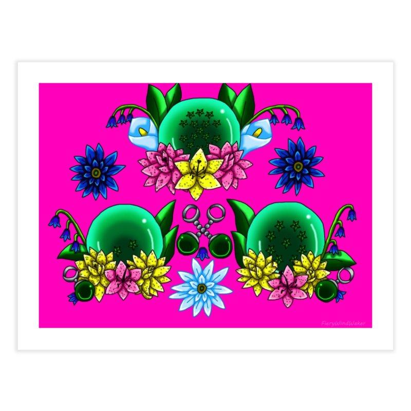 Inverted May Birthstone Dragonballs #26 Home Fine Art Print by FieryWindWaker's Artist Shop