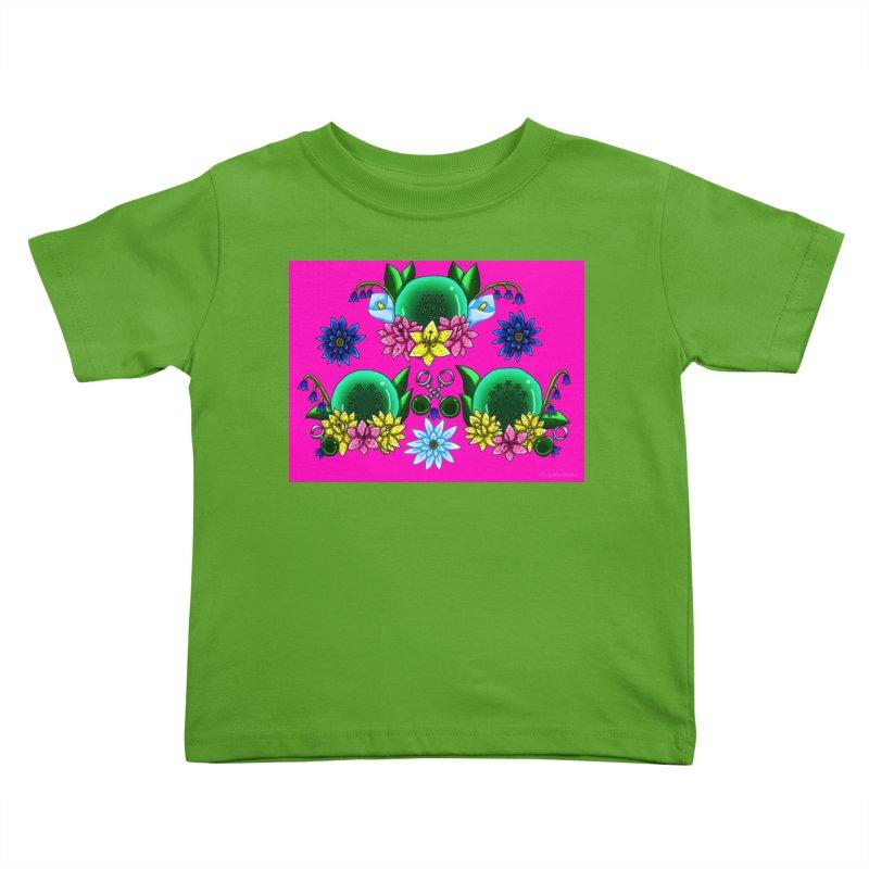 Inverted May Birthstone Dragonballs #27 Kids Toddler T-Shirt by FieryWindWaker's Artist Shop