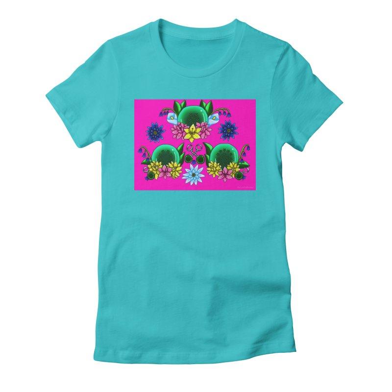 Inverted May Birthstone Dragonballs #27 Women's T-Shirt by FieryWindWaker's Artist Shop