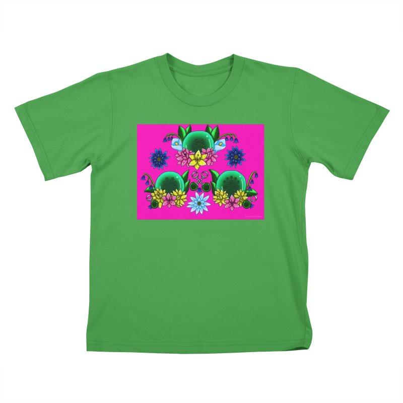 Inverted May Birthstone Dragonballs #27 Kids T-Shirt by FieryWindWaker's Artist Shop