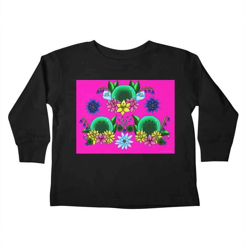 Inverted May Birthstone Dragonballs #27 Kids Toddler Longsleeve T-Shirt by FieryWindWaker's Artist Shop