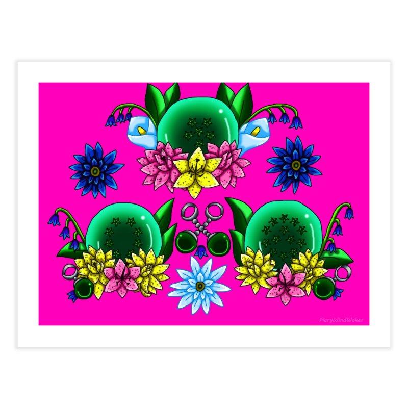 Inverted May Birthstone Dragonballs #27 Home Fine Art Print by FieryWindWaker's Artist Shop