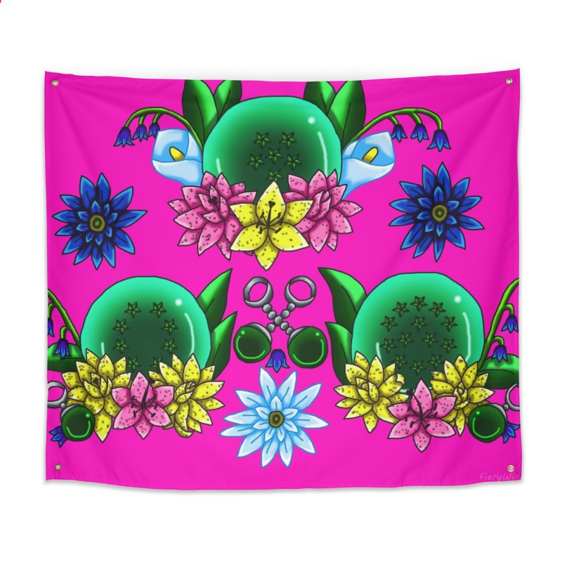 Inverted May Birthstone Dragonballs #27 Home Tapestry by FieryWindWaker's Artist Shop