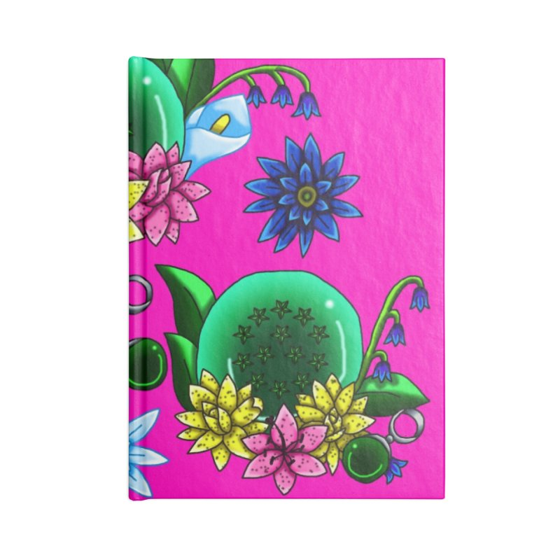 Inverted May Birthstone Dragonballs #27 Accessories Notebook by FieryWindWaker's Artist Shop