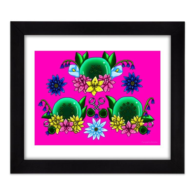Inverted May Birthstone Dragonballs #27 Home Framed Fine Art Print by FieryWindWaker's Artist Shop