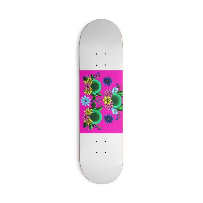 Inverted May Birthstone Dragonballs #27 Accessories Skateboard by FieryWindWaker's Artist Shop