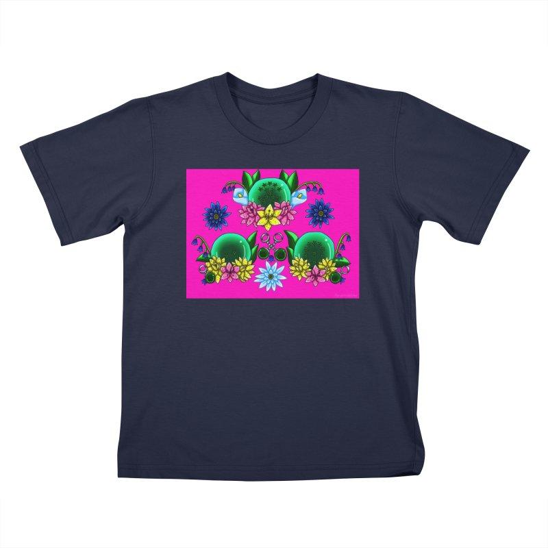 Inverted May Birthstone Dragonballs #28 Kids T-Shirt by FieryWindWaker's Artist Shop
