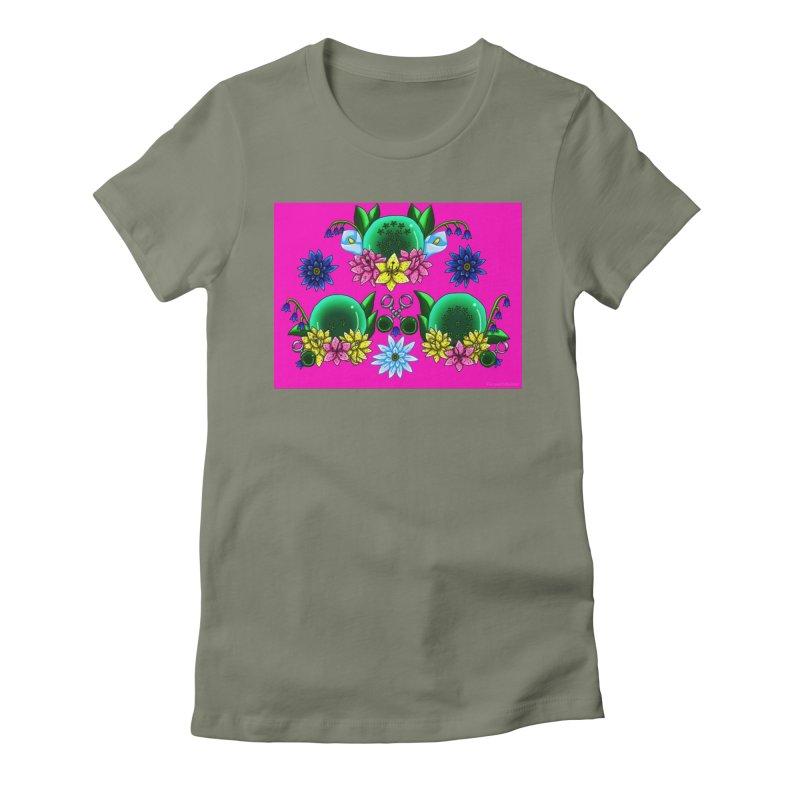 Inverted May Birthstone Dragonballs #28 Women's T-Shirt by FieryWindWaker's Artist Shop