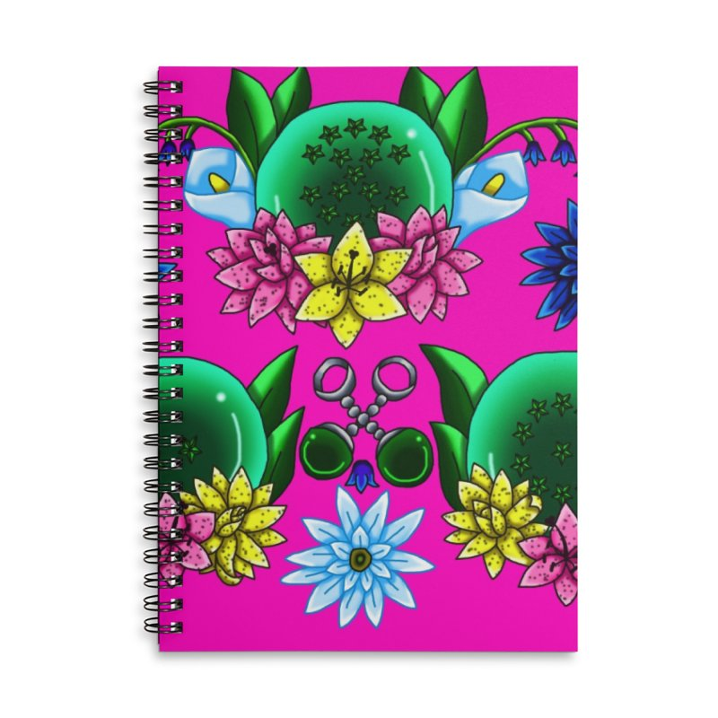 Inverted May Birthstone Dragonballs #28 Accessories Notebook by FieryWindWaker's Artist Shop