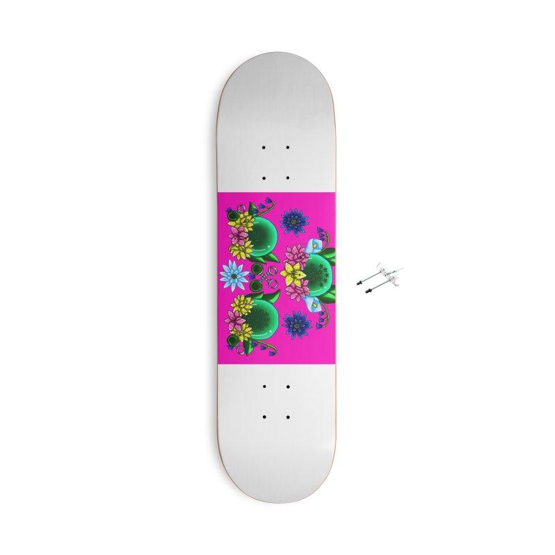 Inverted May Birthstone Dragonballs #28 Accessories Skateboard by FieryWindWaker's Artist Shop