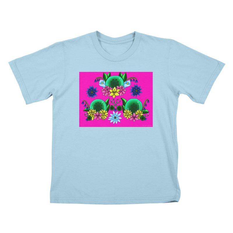 Inverted May Birthstone Dragonballs #29 Kids T-Shirt by FieryWindWaker's Artist Shop