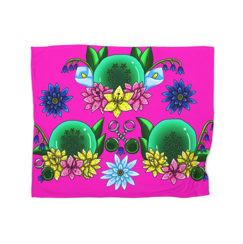 Inverted May Birthstone Dragonballs #29 Home Blanket by FieryWindWaker's Artist Shop
