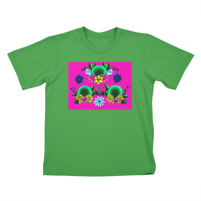 Inverted May Birthstone Dragonballs #30 Kids T-Shirt by FieryWindWaker's Artist Shop