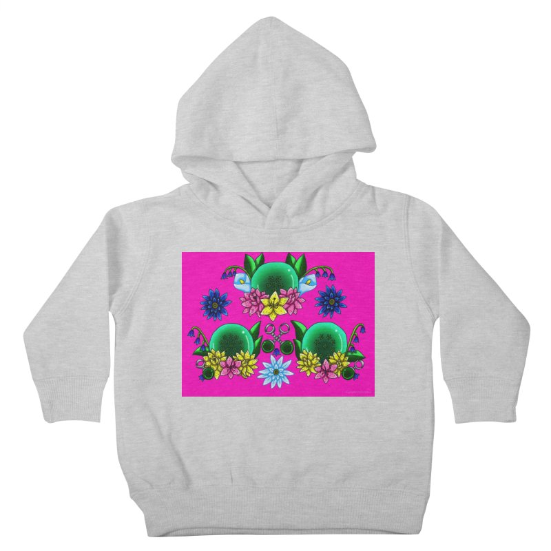 Inverted May Birthstone Dragonballs #30 Kids Toddler Pullover Hoody by FieryWindWaker's Artist Shop