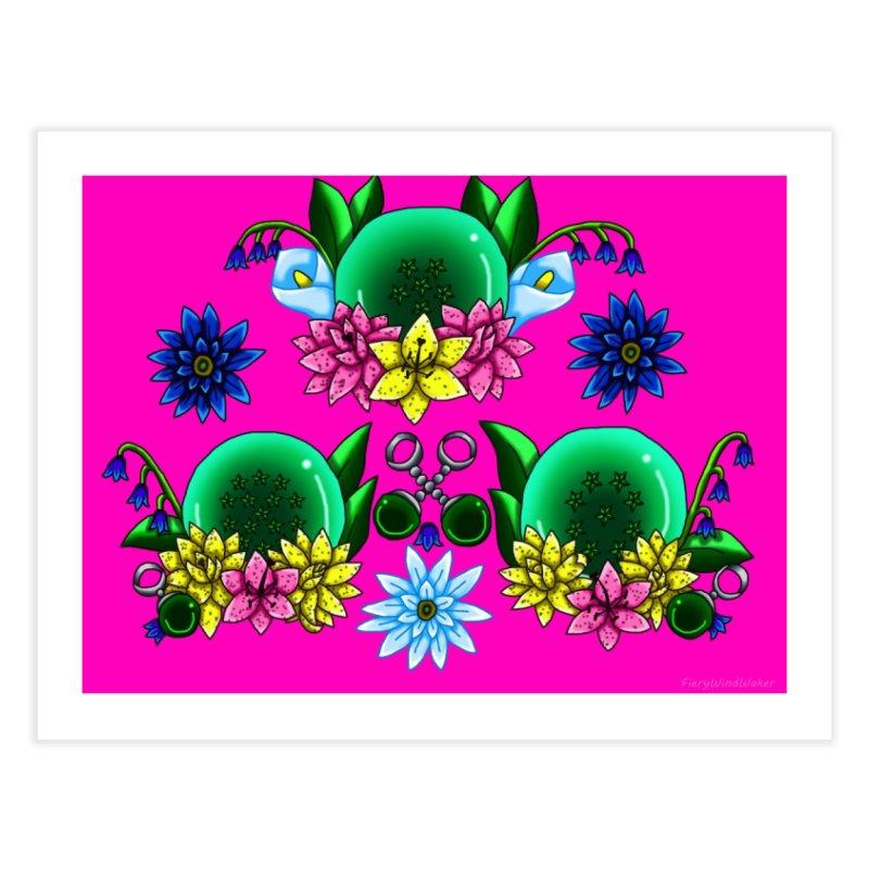 Inverted May Birthstone Dragonballs #30 Home Fine Art Print by FieryWindWaker's Artist Shop