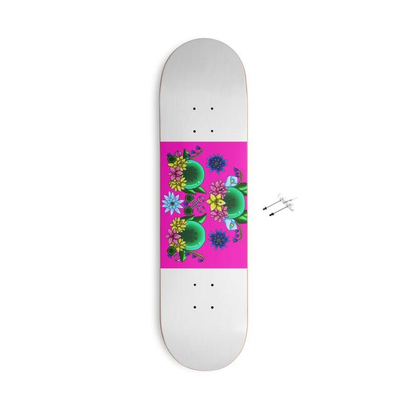 Inverted May Birthstone Dragonballs #30 Accessories Skateboard by FieryWindWaker's Artist Shop