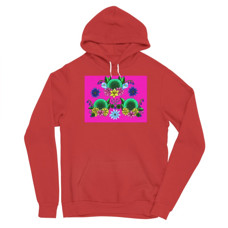 Inverted May Birthstone Dragonballs #31 Women's Pullover Hoody by FieryWindWaker's Artist Shop
