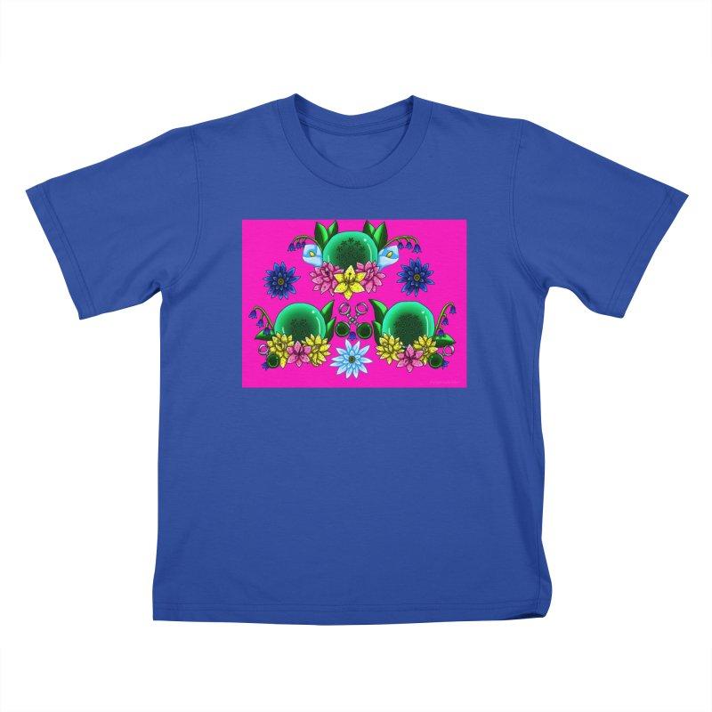 Inverted May Birthstone Dragonballs #31 Kids T-Shirt by FieryWindWaker's Artist Shop