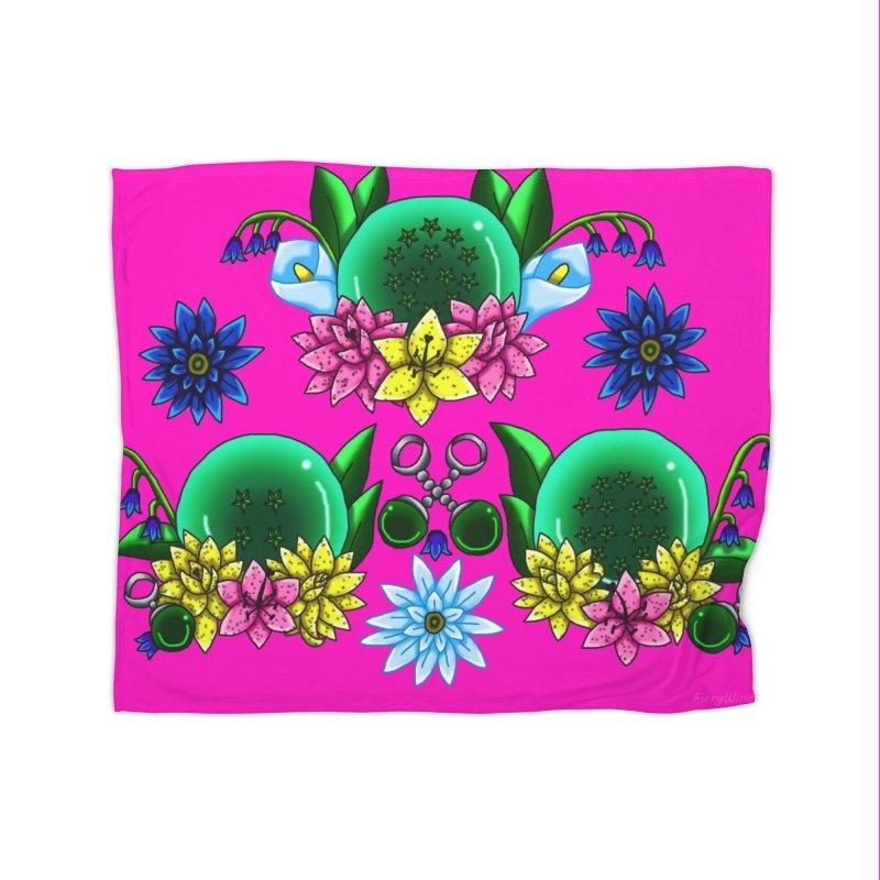 Inverted May Birthstone Dragonballs #31 Home Blanket by FieryWindWaker's Artist Shop