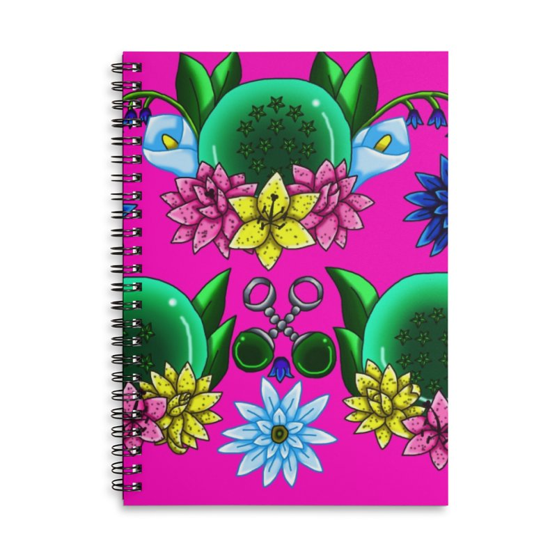 Inverted May Birthstone Dragonballs #31 Accessories Notebook by FieryWindWaker's Artist Shop