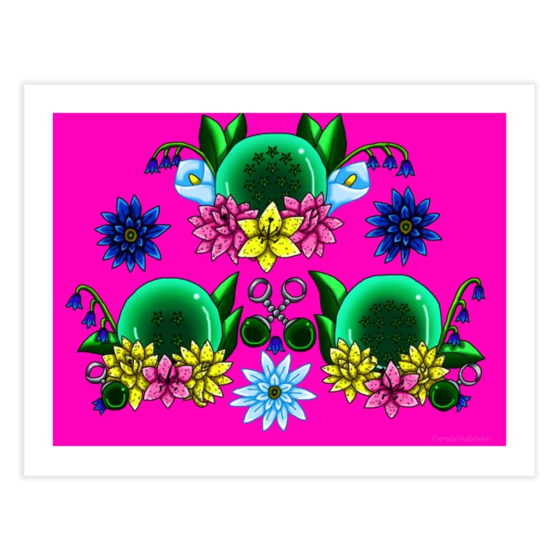 Inverted May Birthstone Dragonballs #31 Home Fine Art Print by FieryWindWaker's Artist Shop