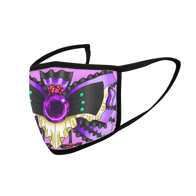 Materia Bow #5 - Independent Materia Accessories Face Mask by FieryWindWaker's Artist Shop