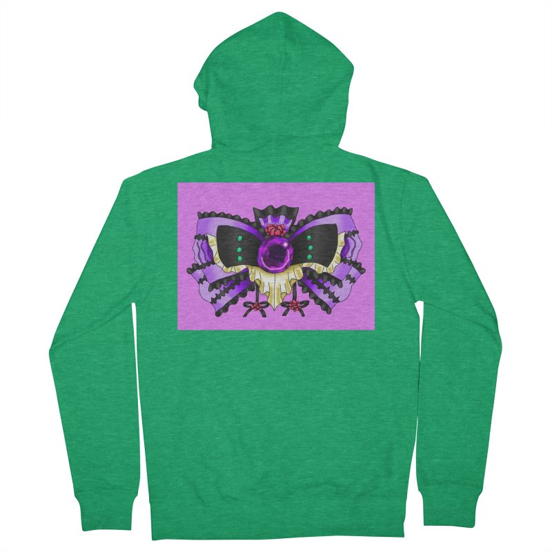 Materia Bow #5 - Independent Materia Men's Zip-Up Hoody by FieryWindWaker's Artist Shop
