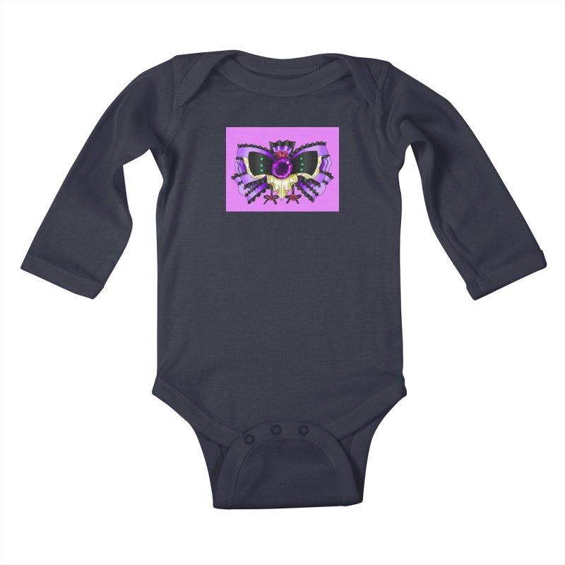 Materia Bow #5 - Independent Materia Kids Baby Longsleeve Bodysuit by FieryWindWaker's Artist Shop