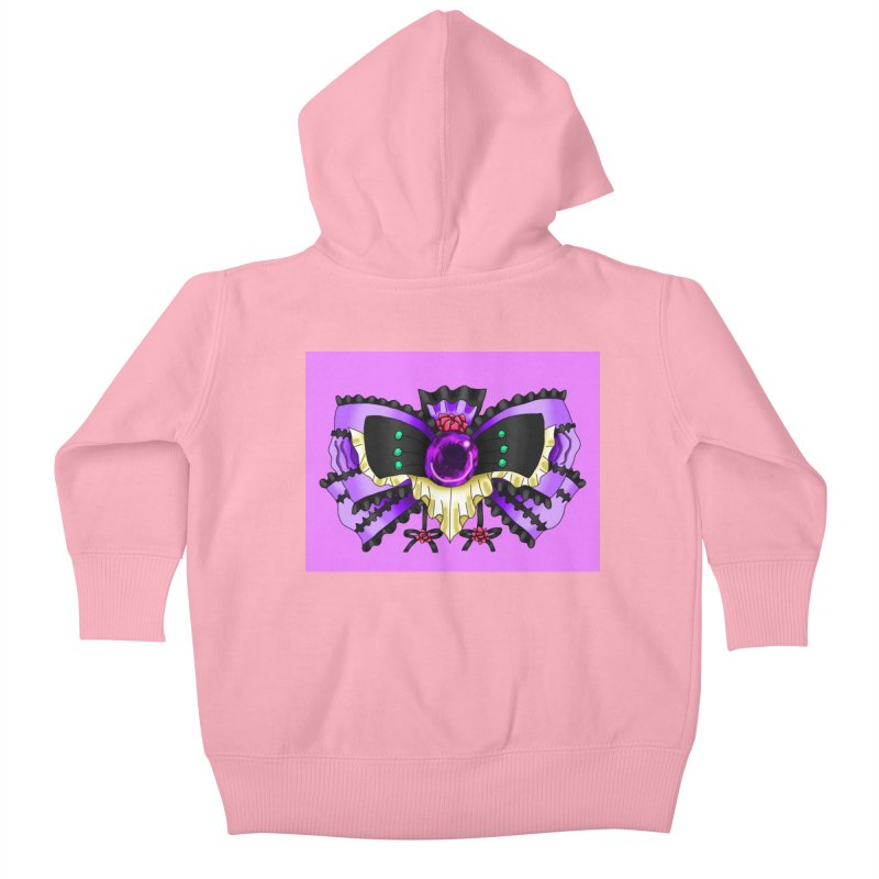 Materia Bow #5 - Independent Materia Kids Baby Zip-Up Hoody by FieryWindWaker's Artist Shop