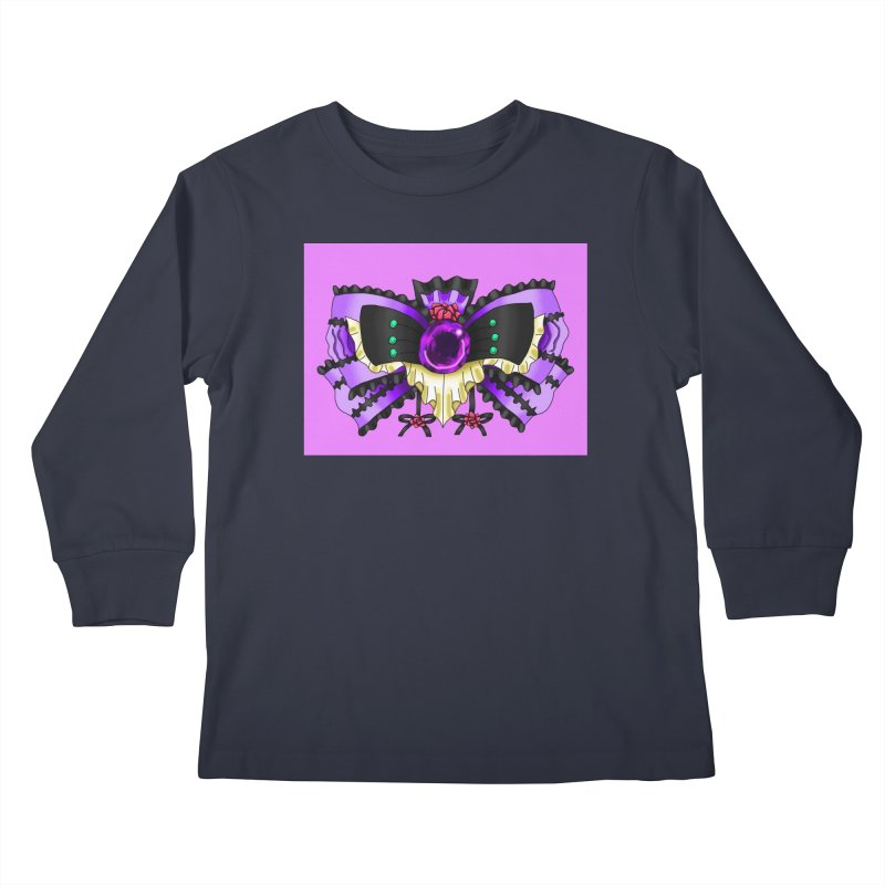 Materia Bow #5 - Independent Materia Kids Longsleeve T-Shirt by FieryWindWaker's Artist Shop