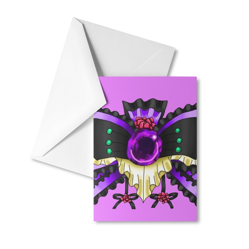 Materia Bow #5 - Independent Materia Accessories Greeting Card by FieryWindWaker's Artist Shop