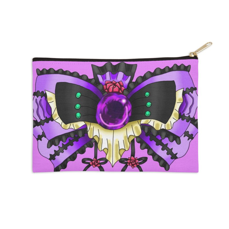 Materia Bow #5 - Independent Materia Accessories Zip Pouch by FieryWindWaker's Artist Shop