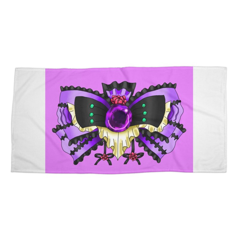 Materia Bow #5 - Independent Materia Accessories Beach Towel by FieryWindWaker's Artist Shop