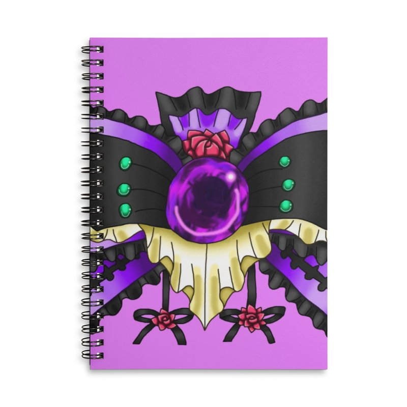 Materia Bow #5 - Independent Materia Accessories Notebook by FieryWindWaker's Artist Shop