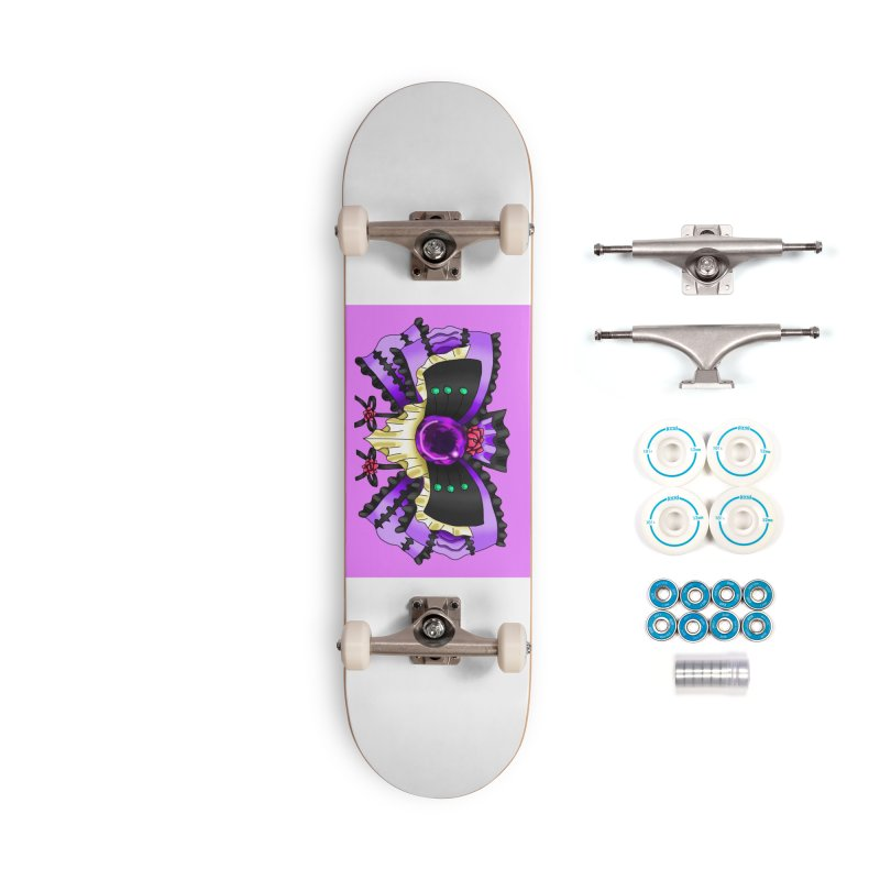 Materia Bow #5 - Independent Materia Accessories Skateboard by FieryWindWaker's Artist Shop