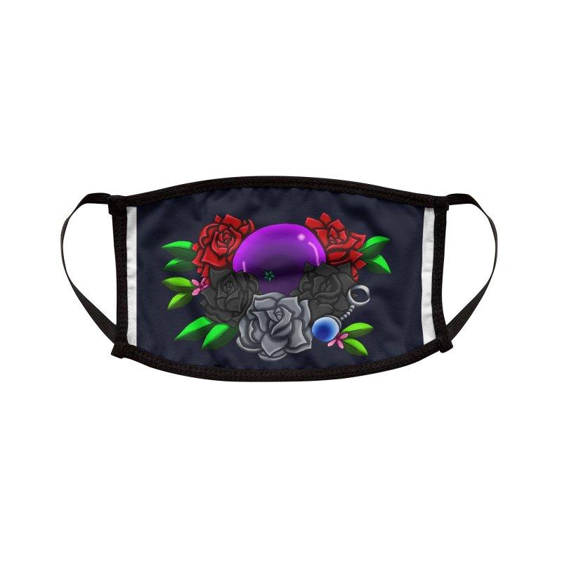 Inverted June Birthstone Dragonball #1 Accessories Face Mask by FieryWindWaker's Artist Shop