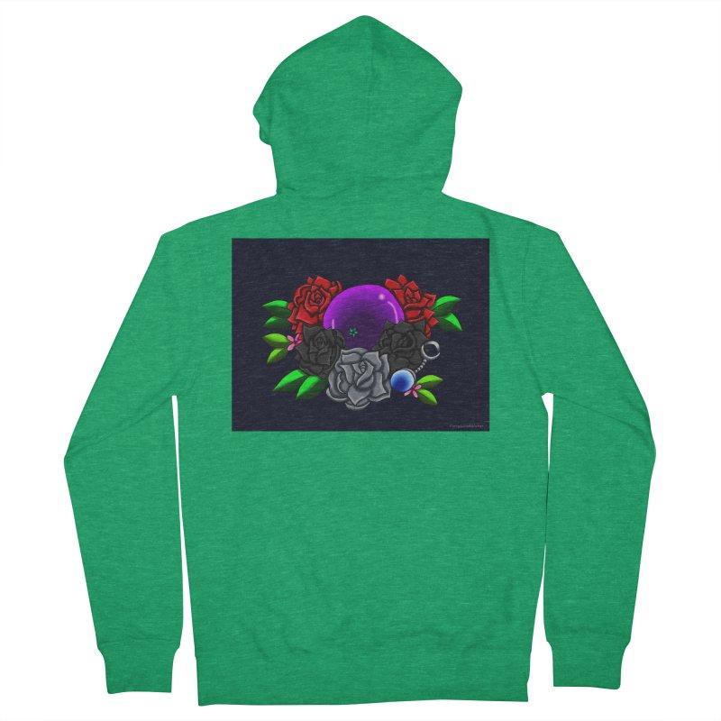 Inverted June Birthstone Dragonball #1 Men's Zip-Up Hoody by FieryWindWaker's Artist Shop