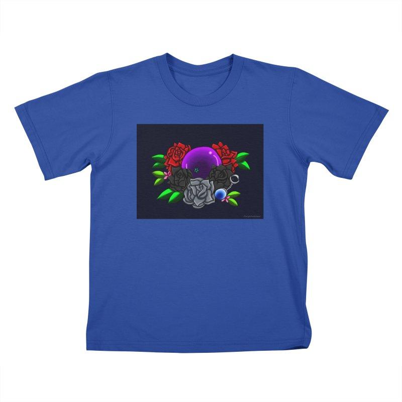 Inverted June Birthstone Dragonball #1 Kids T-Shirt by FieryWindWaker's Artist Shop