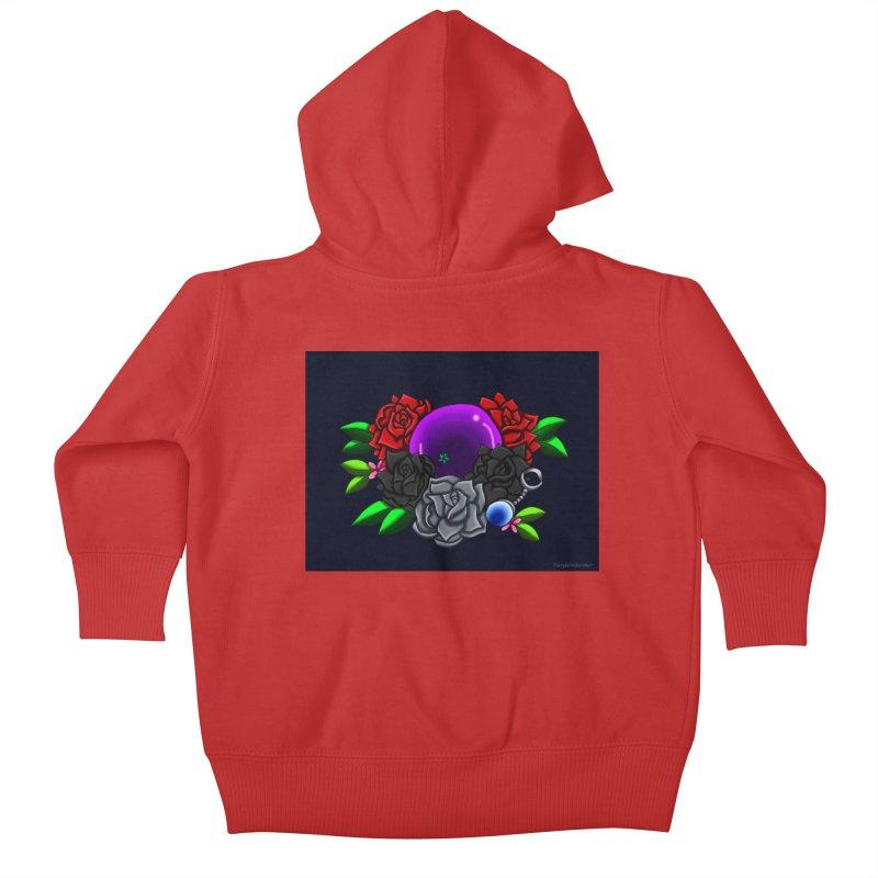 Inverted June Birthstone Dragonball #1 Kids Baby Zip-Up Hoody by FieryWindWaker's Artist Shop