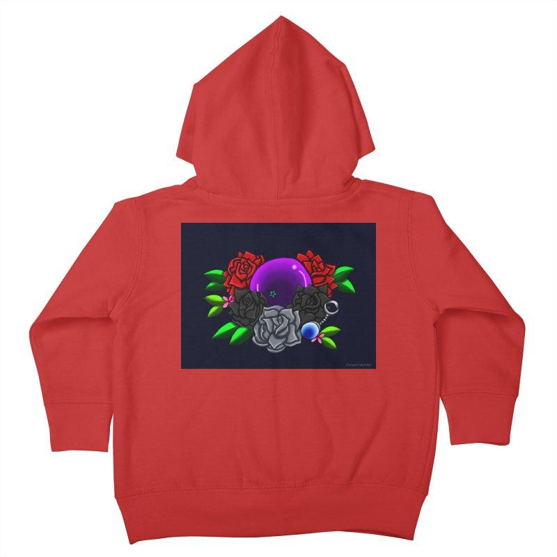 Inverted June Birthstone Dragonball #1 Kids Toddler Zip-Up Hoody by FieryWindWaker's Artist Shop